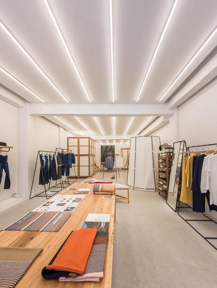 上海 klee klee 服装品牌专卖店设计 服装店设计 店面设计 中国 专卖店设计 上海