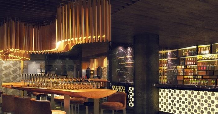 乌克兰基辅 COIN 餐厅设计 餐厅设计 意大利