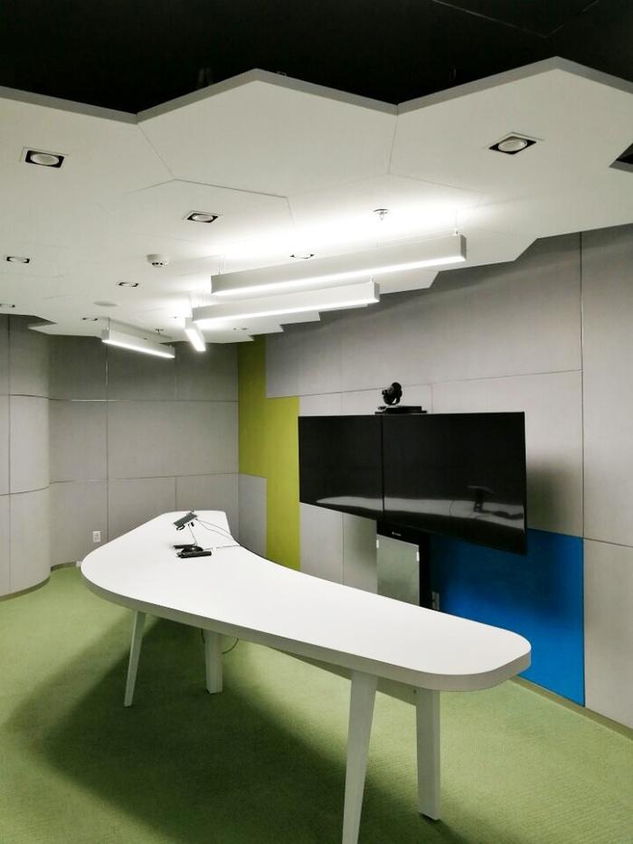 越南胡志明华为办公室设计 办公空间设计 办公室设计