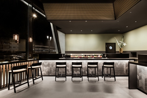 斯图加特 Enso 寿司和烧烤店设计 餐厅设计 烧烤店设计