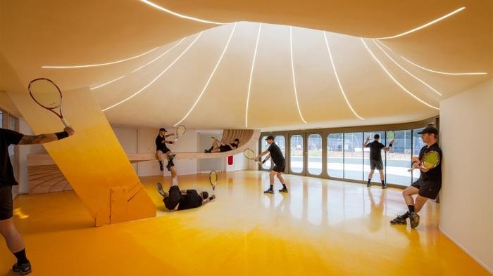 比利时史特拉斯堡网球俱乐部设计 俱乐部设计