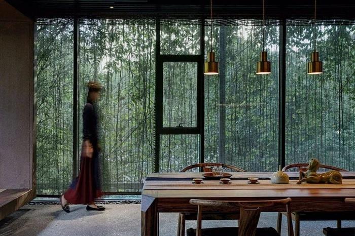 宁波慧舍茶室设计 茶室设计