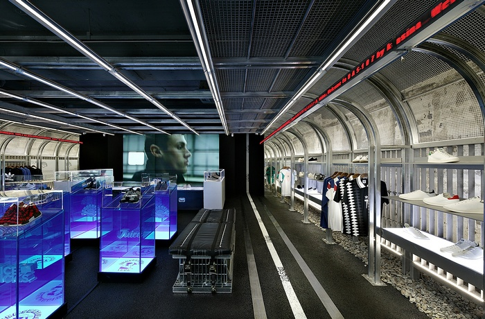 韩国首尔 Adidas 概念店设计 韩国 概念店设计