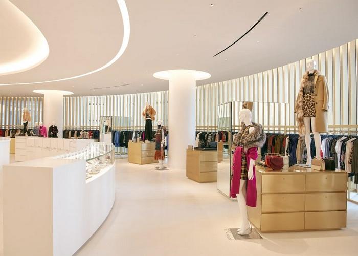 美国 Saks 高端专卖店设计 美国 店面设计 女装店设计 专卖店设计