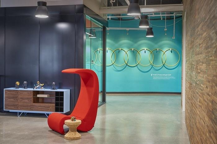 美国加利利福尼亚 Symantec 公司办公室设计 美国 办公空间设计 办公室设计