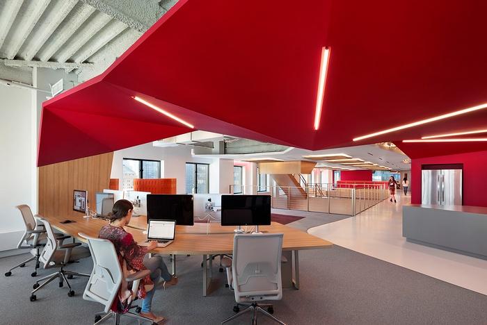美国纽约阳狮集团新总部办公空间设计 美国 办公空间设计 办公室设计