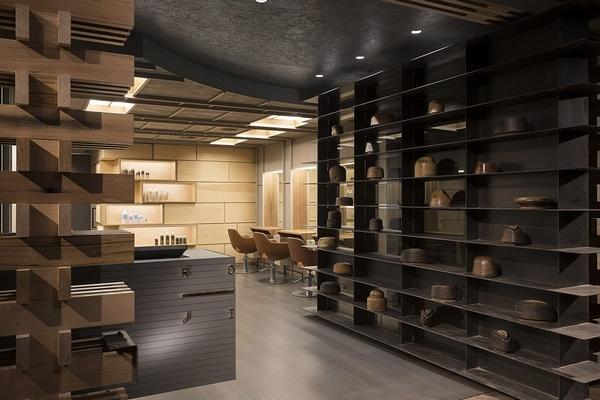 澳大利亚堪培拉 Roji 美发沙龙设计 美发沙龙设计 理发店设计 澳大利亚 日本 店铺设计
