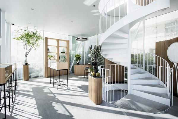 东京 Natur & Nicolai Bergmann珠宝旗舰店设计 珠宝店设计 日本 旗舰店设计 店面设计 商业空间设计 东京 专卖店设计