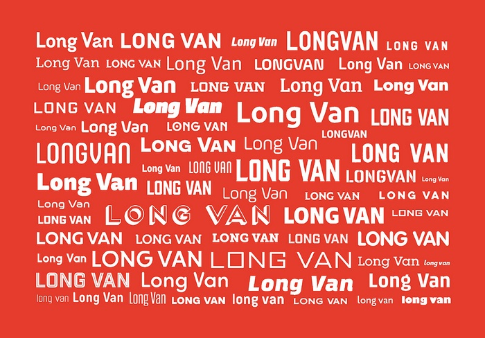 越南 Long Van 集团企业形象设计、标志设计 画册设计 标志设计 包装设计 企业形象设计