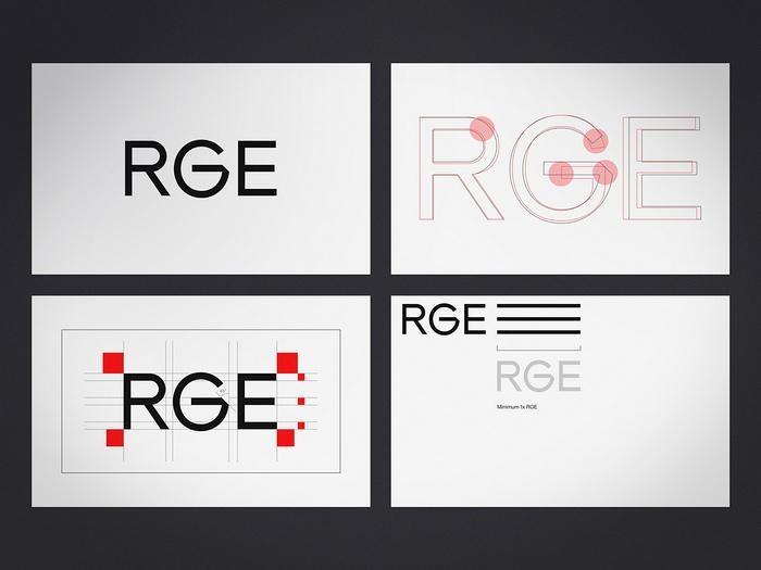 RGE 咨询企业形象VI设计 标志设计 品牌形象设计 VI设计