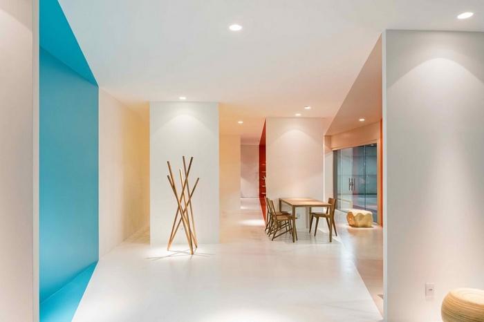 巴西巴西利亚 COR 家具展厅设计 巴西 展厅设计