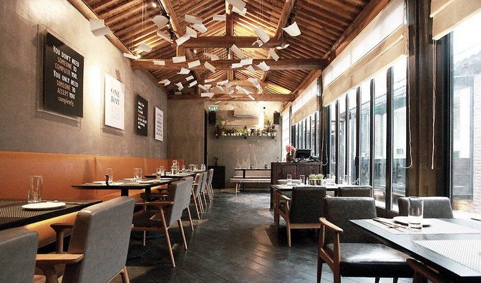 北京前门 Meeting Someone 餐厅设计 餐厅设计 日本 北京
