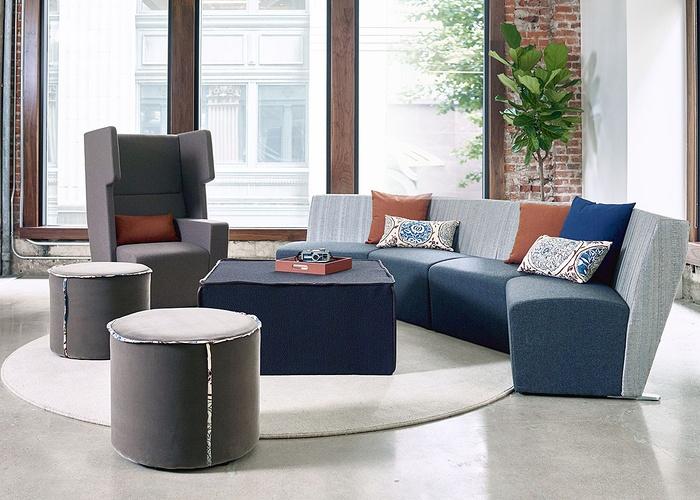 美国洛杉矶 OFS 品牌展厅设计 美国 展厅设计 家具店设计