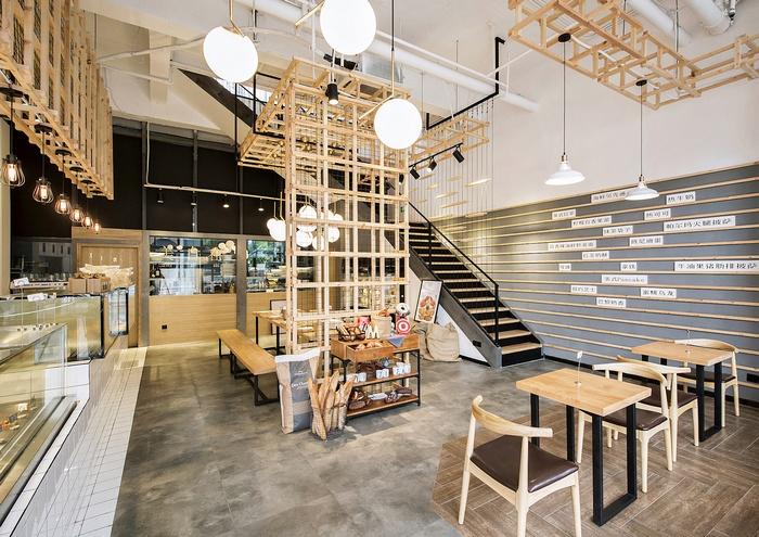 武汉美自在烘焙餐厅设计 餐厅设计 中国