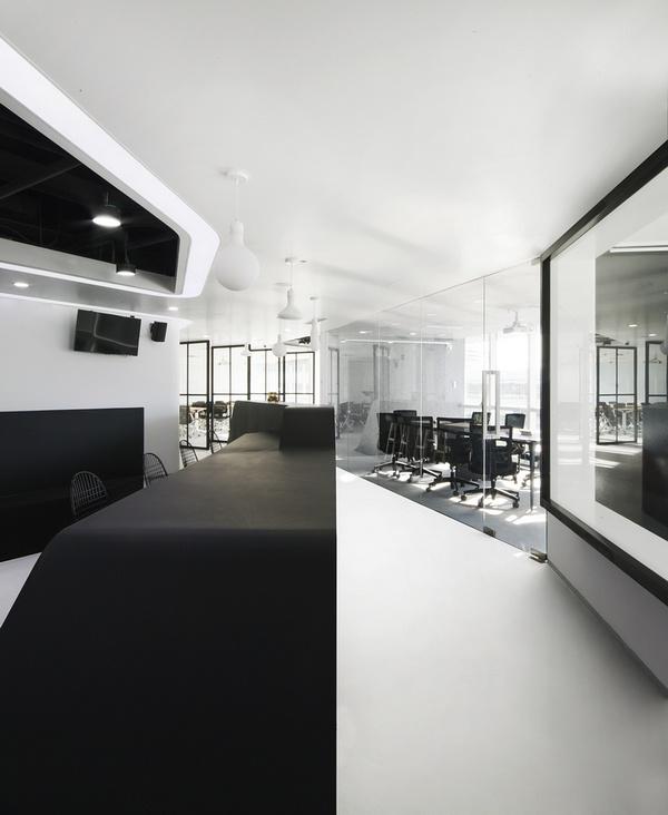 北京银河 SOHO 普惠金融办公室设计 北京 办公室设计 中国