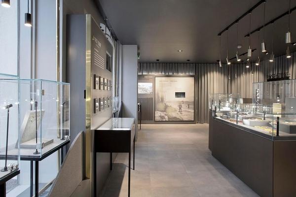 赫尔辛基 FirstStoneShowroom 琥珀专卖店设计 首饰店设计 珠宝店设计 店面设计 专卖店设计