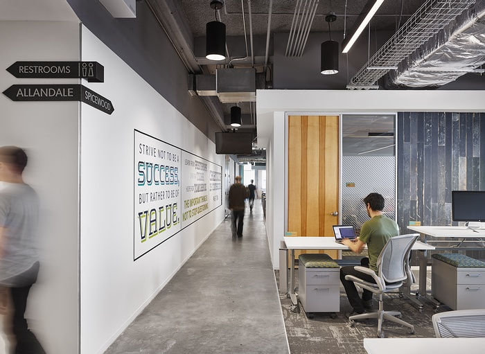 美国 Bazaarvoice 公司办公室设计 美国 办公室设计