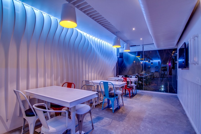 印度海得拉巴 Dock 45 会所设计 餐厅设计 夜总会设计 印度 会所设计