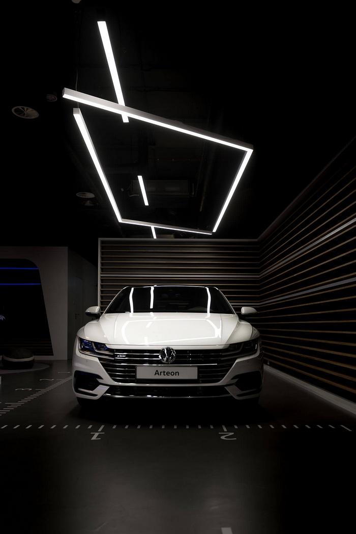 波兰华沙 Volkswagen Home 概念店设计 概念店设计 展厅设计