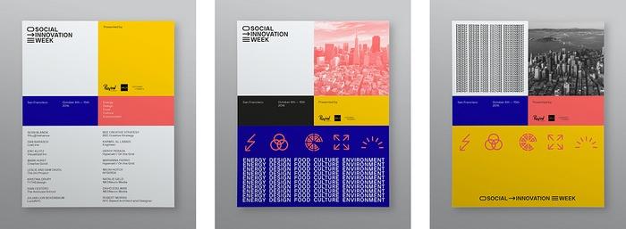 Social Innovation Week SF 活动策划设计 网站设计 画册设计 标志设计 品牌形象设计 包装设计