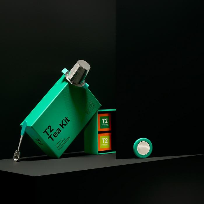 T2 Tea 茶叶包装设计 品牌形象设计 包装设计