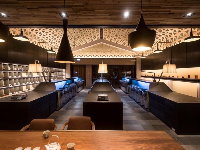 台北林茂森茶室设计 茶馆设计 茶室设计 台湾