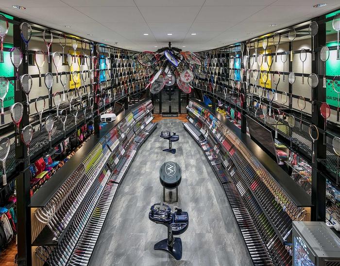 东京 WADA Sports 新总部旗舰店设计 概念店设计 日本 旗舰店设计 店面设计 东京