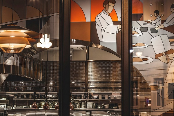 俄罗斯莫斯科 Tehnikum 风情餐厅设计 餐厅设计 俄罗斯