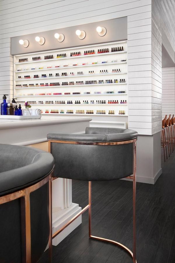 加拿大多伦多 Her Majesty's Pleasure 美容沙龙设计 美容沙龙设计 美容店设计 加拿大