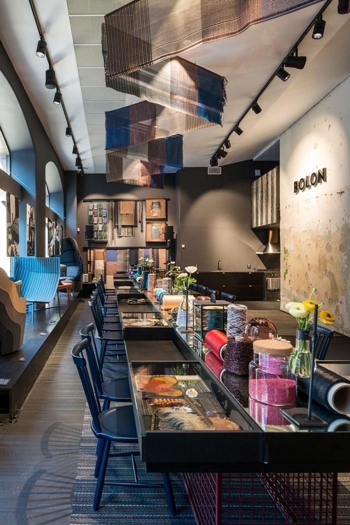 瑞典斯德哥尔摩 Bolon 展厅设计 店面设计 展厅设计 家具店设计