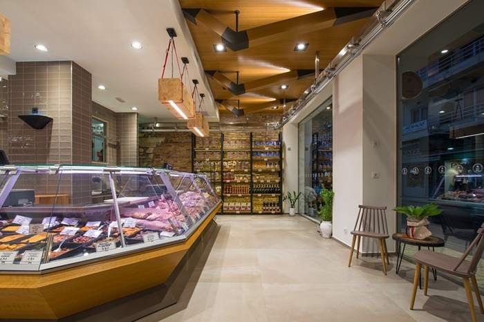 希腊 KOUTZOUKOS meat & more 肉店设计 肉店设计 店面设计 希腊 商业空间设计