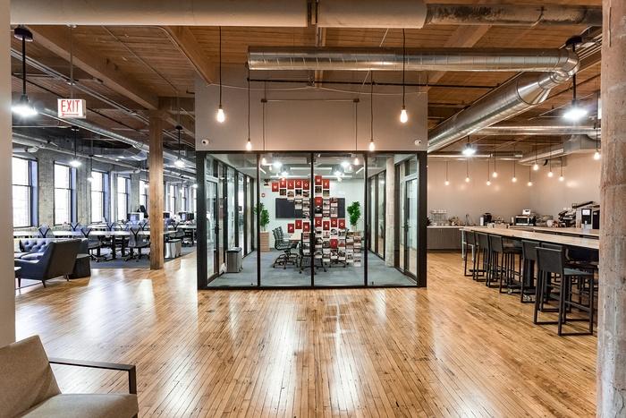 芝加哥 Pinterest 创意办公室设计 美国 办公空间设计 办公室设计