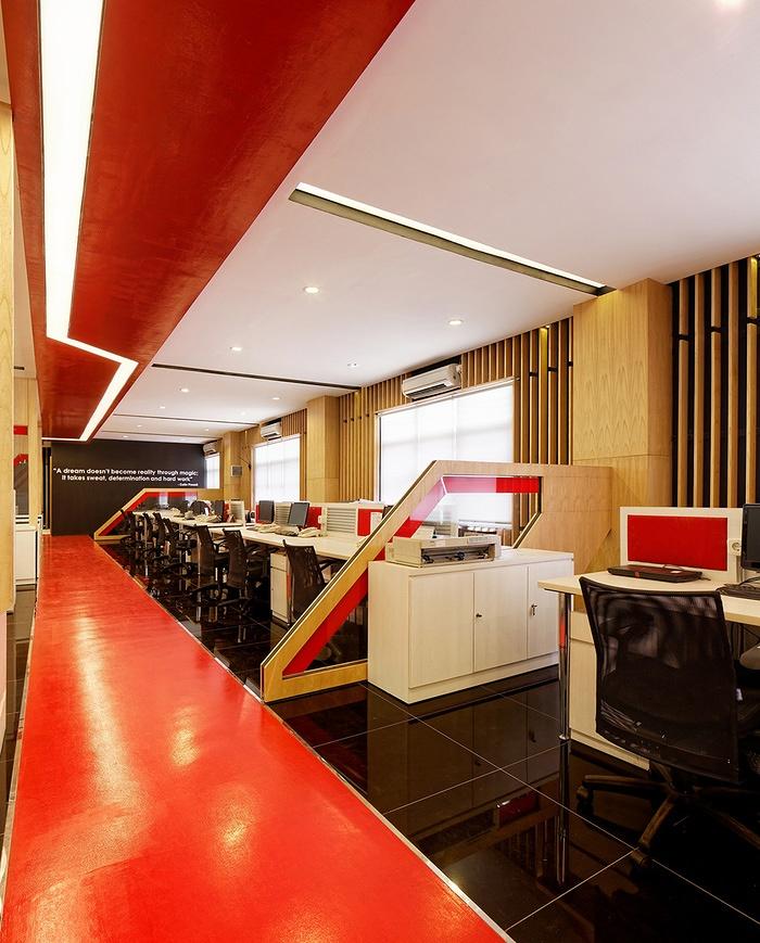 印度尼西亚雅加达 OMG Indonesia 办公室设计 办公室设计