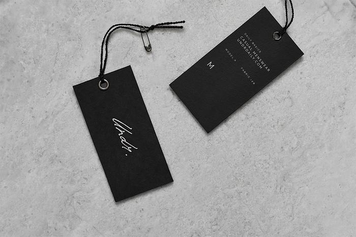 巴拿马 Undr 服装品牌形象设计 标志设计 品牌形象设计