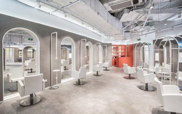 上海 IeverBeauty 美发沙龙设计 美发沙龙设计 理发店设计 上海