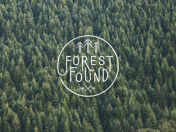 Forest 户外教育企业VI设计、标志设计 画册设计 标志设计 名片设计 VI设计