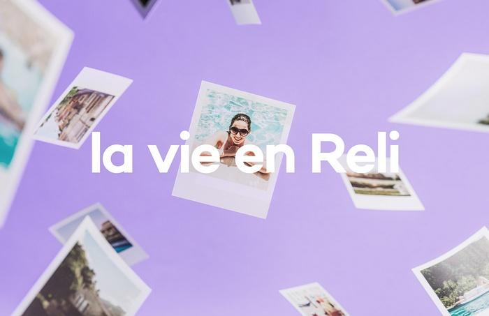 法国 Reli 度假企业品牌VI设计 网站设计 法国 标志设计 VI设计 APP设计