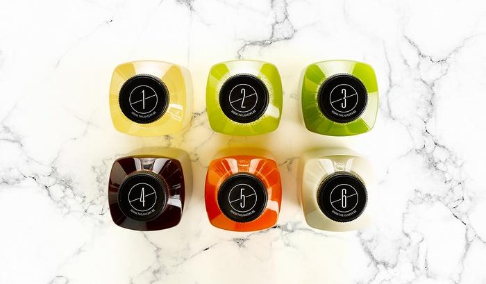 纽约 The Juicery 果蔬汁包装设计 网站设计 标志设计 包装设计 VI设计