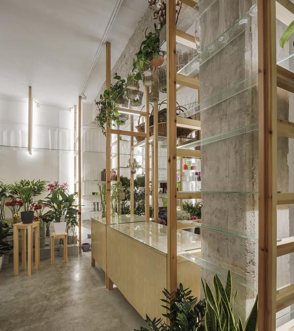 西班牙 Calladium 花店设计 西班牙 花店设计 店面设计 专卖店设计