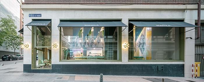 西班牙马德里 romola 咖啡厅与餐厅设计 餐厅设计 西班牙 咖啡厅设计