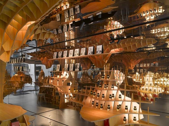 巴黎 FrédéricMalle 香水店设计 香水店设计 法国 店面设计 专卖店设计