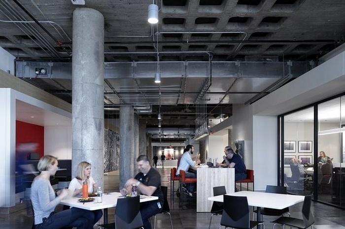 美国纽约 Dealer Tire 办公室设计 美国 照明设计 办公空间设计 办公室设计