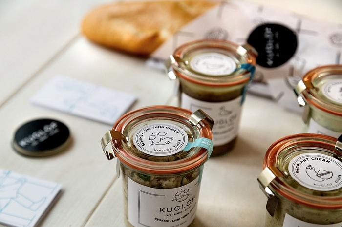 匈牙利 Kuglóf 咖啡馆形象设计 标志设计 店面设计 咖啡馆设计 包装设计