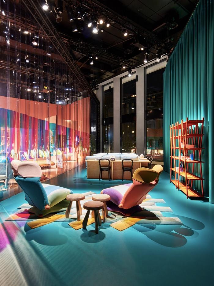 意大利米兰 Cassina 家具展厅设计 意大利 展厅设计