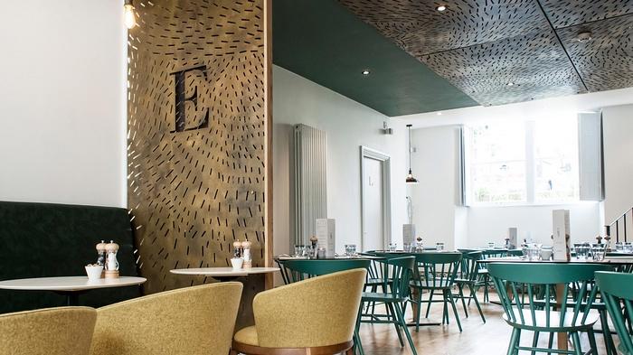 伦敦 Ensemble 咖啡厅设计 英国 咖啡馆设计 咖啡厅设计