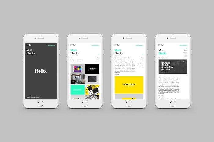 FFFactōry 设计工作室VI设计 网站设计 标志设计 VI设计 APP设计