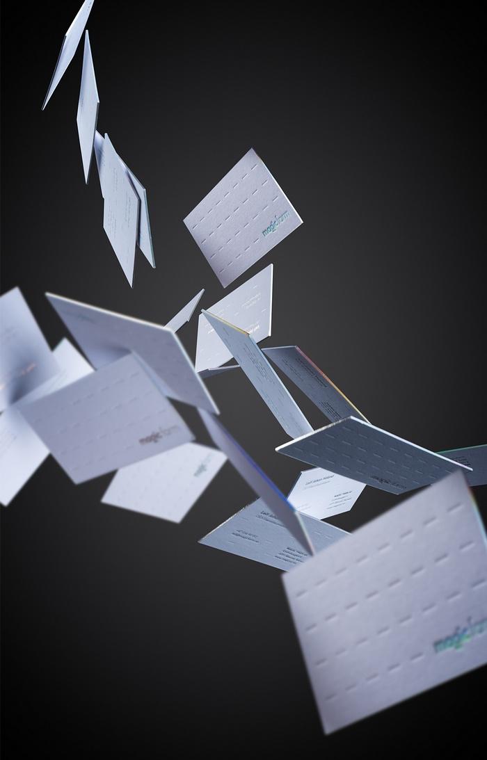 Magic Air 制作公司品牌视觉VI设计 网站设计 画册设计 名片设计 VI设计 APP设计
