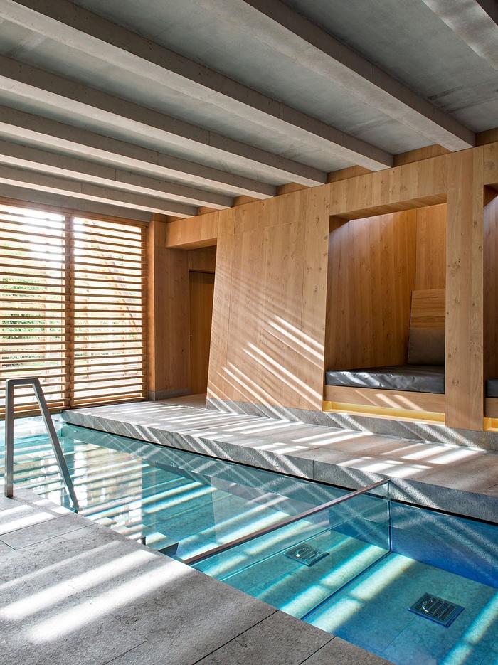 法国 Berges 酒店及其水疗中心设计 酒店设计 水疗中心设计 会所设计 spa设计