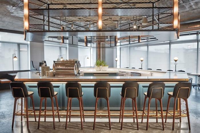 洛杉矶 Dropbox 公司自助餐厅咖啡厅设计 餐厅设计 食堂设计 美国 咖啡厅设计
