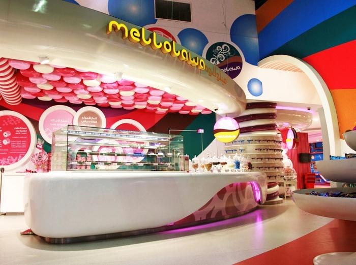 沙特阿拉伯利雅得 Candylawa 糖果店设计 糖果店设计 店面设计 商业空间设计